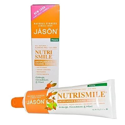 Jason Natural Products Nutrismile Toothpaste, Orange Cinnamon Mint, 4.2 Ounce