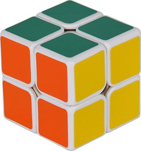D-FantiX 50mm Cyclone Boys Speed Cube 2x2 Magic Cube Puzzles White