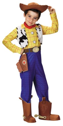 Toy Story Disney Woody Deluxe Child Costume (Cowboy Boot Spats)