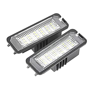 2 luces LED para matrícula de Boxster (987) Cayman (987) 911 Carrera