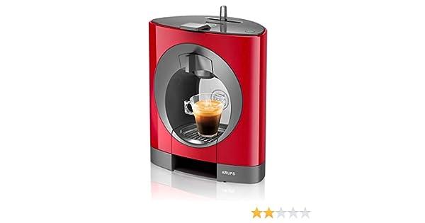 Krups YY2291FD - Cafetera (Independiente, Rojo, Espresso machine, Cápsulas, 0,8L, Totalmente automática): Amazon.es: Hogar