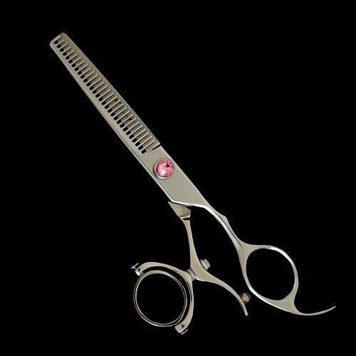 "Kashi CB-522T Swivel Thumb 30 Teeth 6"" Thinning/Texturizing Hair Shears"
