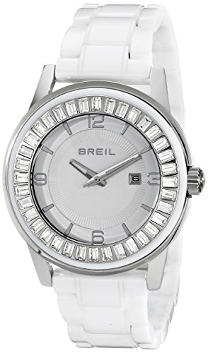 Breil Milano Women's TW1155 Orchestra Analog Display Japanese Quartz White Watch