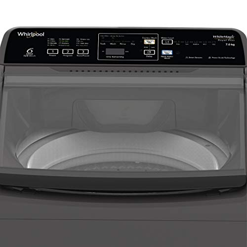 Whirlpool 7 Kg 5 Star Royal Plus Fully-Automatic Top Loading Washing Machine (WHITEMAGIC ROYAL PLUS 7.0, Grey, Hard Water Wash) 41HCSwMU%2B L India 2021