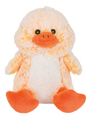 PHILLIPS PET FOOD SUPPLY PT899DK Two Tone Cuddle Duck Plush Dog Toy, 9