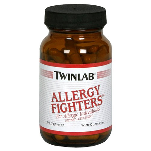Twinlab Allergy Fighters with Quercetin, 60 Capsules (Pack of 2)