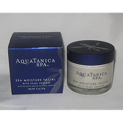 - Bath & Body Works Aquatanica Spa Sea Moisture Facial With Pearl Protein With Exclusive Marine Nutrient Complex, 2 oz. (57 g)