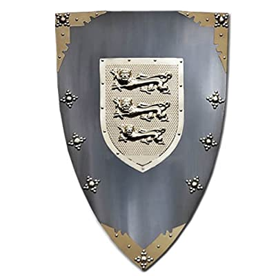 Famous Medieval Knights Of The Shield Armor Battle Shield Stainless Steel
