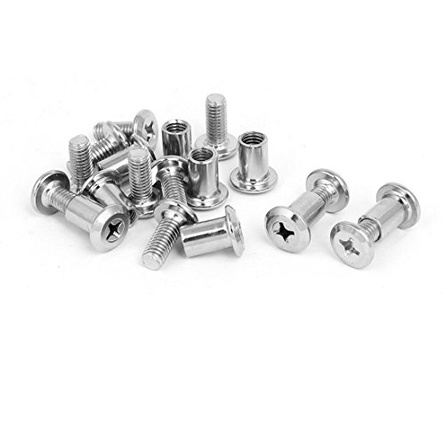 Connecting Bolt - uxcell Phillips Socket Head Nuts Countersunk Bolts Connecting Screws 10 Sets