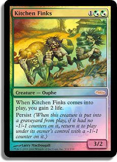 Price comparison product image Magic: the Gathering - Kitchen Finks - FNM 2009 - FNM Promos - Foil