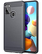Case for Samsung Galaxy M31, Anti-Slip Ultra Thin Shock Absorption Anti Scratch Protective, Cover for Samsung Galaxy M31 - Gray