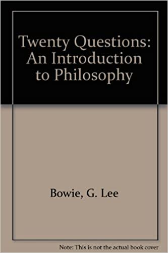 Amazon com: Twenty Questions: An Introduction to Philosophy