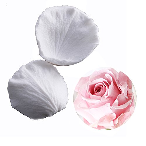 SK Rose Petals Silicone Fondant Mold Sugar Paste Baking Mould Cookie Pastry ()