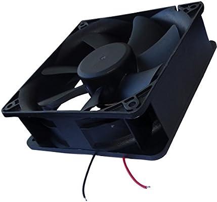 AERZETIX: Ventilador para Caja de Ordenador PC 24V 120x120x38mm ...