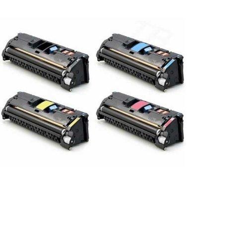 HP C9700A, C9701A, C9702A, C9703A Complete Color Set (Black, Cyan, Yellow, Magenta) -