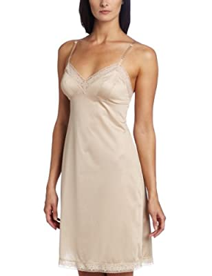 Vanity Fair Women's Rosette Lace Full Slip #10103