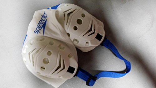 12 Speedo Competition Water Polo Gear Extender Cap #2 To #13 Set White with Blue Print