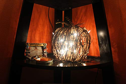Lighted Fall Grapevine Collection (Large Pumpkin)