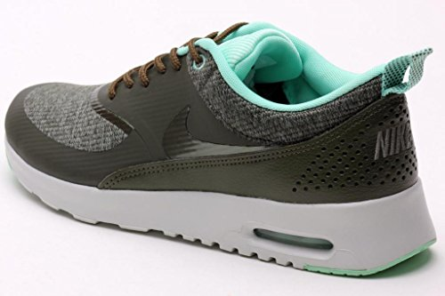 0bf62ecce8cc Nike Womens Air Max Thea Prm Cargo Khaki Light Ash Grey 616723-301 ...