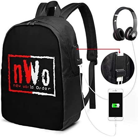 ビジネスリュック NWO ニュー ワールド オーダー メンズバックパック 手提げ リュック バックパックリュック 通勤 出張 大容量 イヤホンポート USB充電ポート付き 防水 PC収納 通勤 出張 旅行 通学 男女兼用