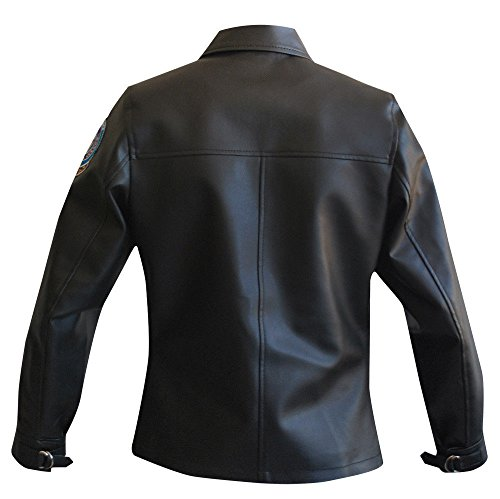 MPASSIONS Top Gun Kelly McGillis (Charlie) Leather Jacket by MPASSIONS (Image #3)