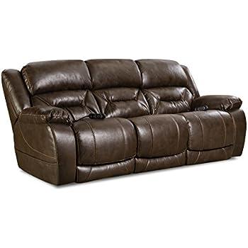 Amazon Com Comfortmax Commander Reclining Headrest Sofa