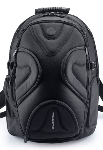 SLAPPA MASK KOA Checkpoint Friendly 17 inch Gaming and Travel Backpack, tons of storage, Ultimate Protection by Slappa