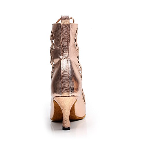 Samba Hauts EU41 Tango Thé Chaussures UK7 Danse Salsa Jazz heeled6cm De JSHOE PU Our42 Chaussures Gold Moderne Talons Latine Sandales De S184Zwq
