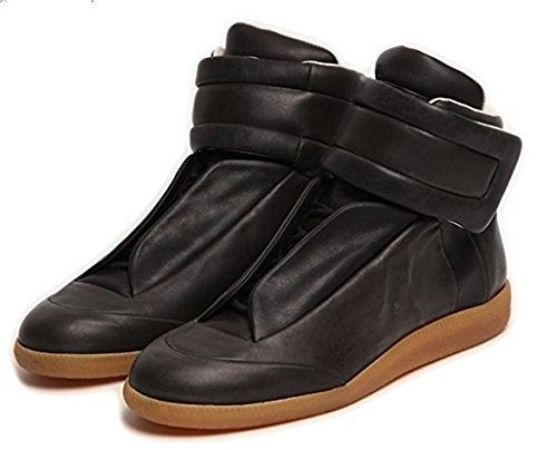 martin-future-leather-high-top-sneaker-limited-offer-fashion-men-shoes-us-7-eur-40-black