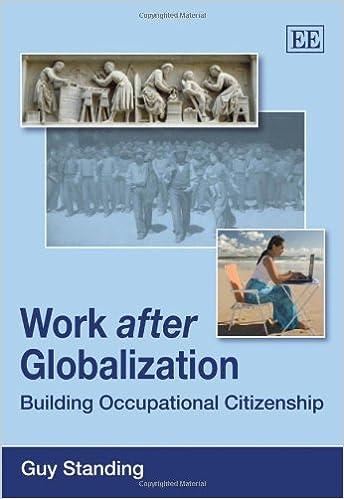 Work After Globalisation: Building Occupational Citizenship