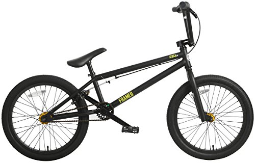 Framed Attack XL BMX Bike Mens Sz 20in/21in Top Tube