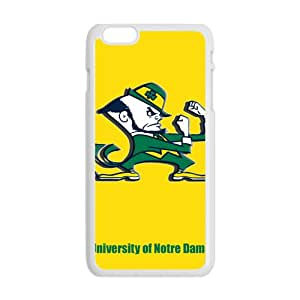 NCAA Notre Dame Fighting Irish Logo Cell Phone Case for Iphone 6 Plus