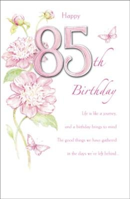 Happy 85th Birthday Greetings Card