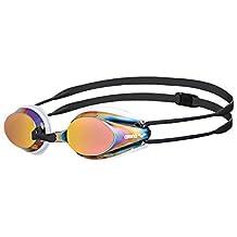 Arena Tracks Mirrored Racing Goggles - Red Revo