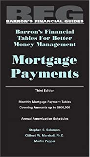 the mortgage payment handbook monthly payment tables and yearly
