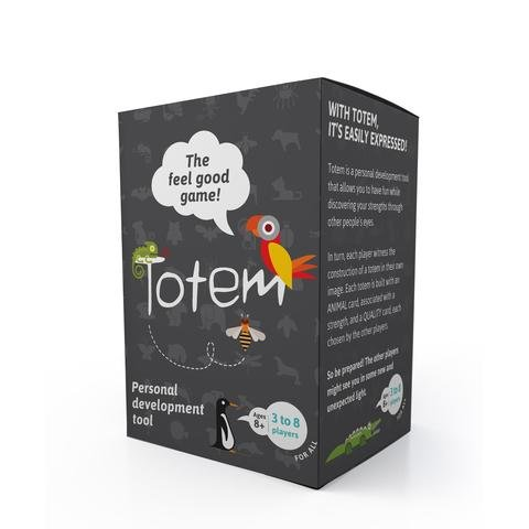 Totem - The Feel Good Game - The Most Positive Card Game Ever that helps People Against Humanity Smile Again
