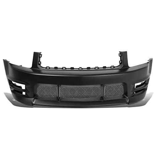 2009 Mustang Boy Racer - DNA Motoring BUMP-F-1001 Racer Boy Style Front Bumper w/Lower Mesh Grille