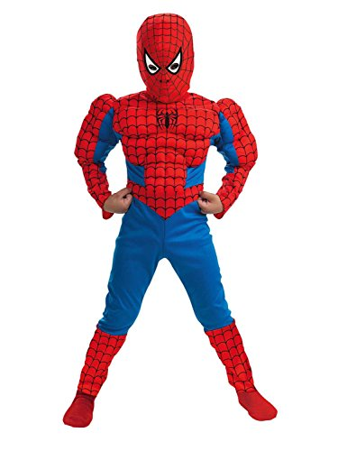 Spiderman Muscle - Size: Child (5t Spiderman Costume)