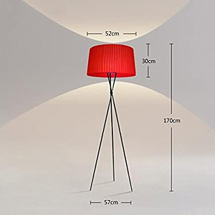 GUOCAIRONG® Lámpara de pie Moderna Simplicidad Cama de pie ...