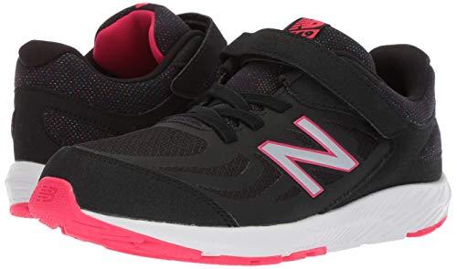 New Balance Girls' 519v1 Hook and Loop Running Shoe Black/Rainbow 2 M US Infant by New Balance (Image #6)