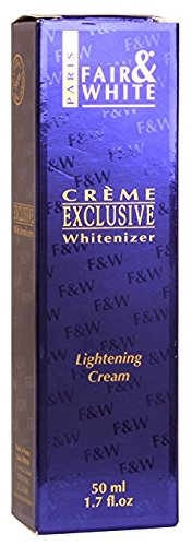 Fair & White Exclusive Whitenizer Lightening Cream with 1.9% Hydroquinone, 50 ml / 1.7fl.oz.
