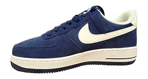 Nike Herren Air Force 1 '07 LV8 Mode Schuhe Licht Armoury Blau / Weiß / Schwarz Binäres Blau Weiß 421
