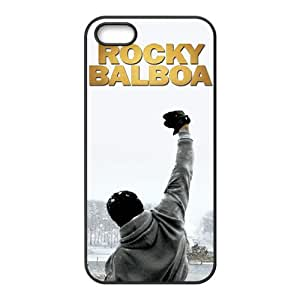 Rocky Balboa Fashion Comstom Plastic case cover For Iphone 5s