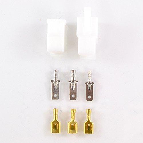 Connectors Kit For Voltage Regulator Rectifier 3 pins