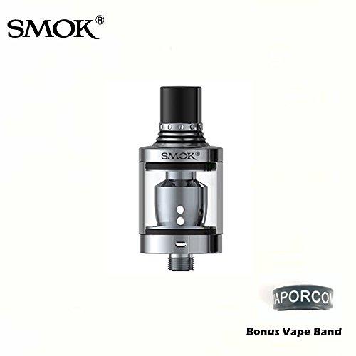 Authentic SMOK SPIRALS Tank 2mL - Silver E-Cigarette Tank Bonus Vaporcombo...
