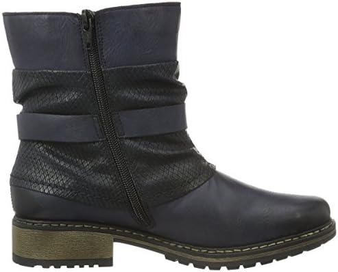 Rieker Damen Z6876 Kurzschaft Stiefel