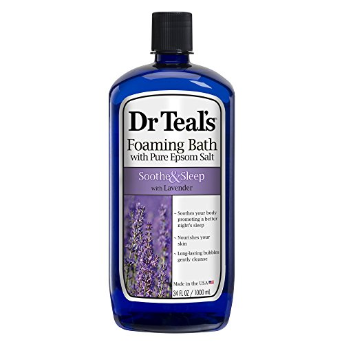 Dr. Teal's Foaming Bath, Lavender, 34 Fluid Ounce(Pack of 6) by Dr. Teal's