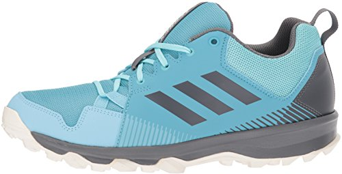 adidas outdoor Women's Terrex Tracerocker W Trail Running Shoe Vapour Grey Four/Icey Blue, 5 M US by adidas outdoor (Image #5)