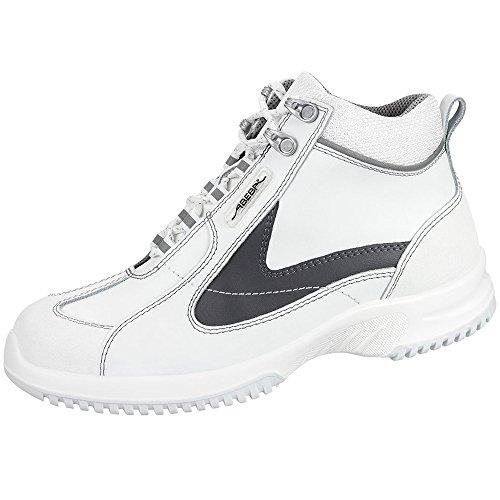 Abeba 1790-44 Uni6 Chaussures de sécurité bottes Taille 44 Blanc/Gris