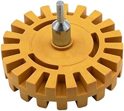 Eraser Wheel 4 Pneumatic Car Decal Remover WheelUniversal Drill AdapterDrill Attachment for Removing Vinyl Decals Pinstripes Stickers / Eraser Wheel 4 Pneumatic Car Decal Remover WheelUniversal Drill AdapterDrill Attachment for Rem...
